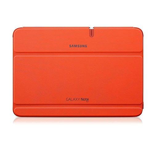 Samsung Original Diarytasche (Flipcover) im Buchdesign EFC-1G2NOECSTD (kompatibel mit Galaxy Note 10.1 Für das Jahr 2013 nur Modell) in orange - 2012 Tablet Samsung