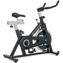CapitalSports Radical ARC X18 Bicicleta Indoor Bicicleta estática Rueda de inercia con 18kg Accionamiento por Correa