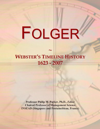 folger-websters-timeline-history-1623-2007