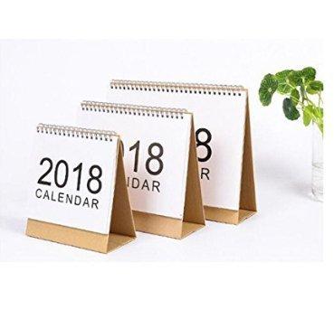 Caomoa Kalender Kalender 2018 Programm Notebook Tischkalender tragbaren Kalender