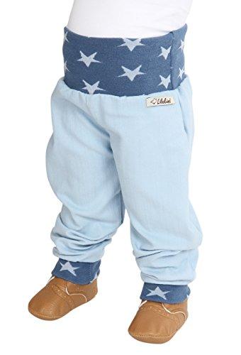 Lilakind Jeans Pumphose Hose Babyhose Sterne Blau - Made in Germany,98/104