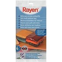 Rayen 6051 - Bolsas para guardar ropa, 6 unidades