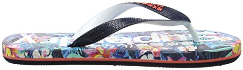 Superdry Aop, Tongs Femme Multicolore (Marbelled Hawaiian Tropical)