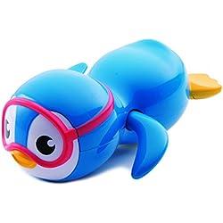 Munchkin 011972 - Pingüino buzo nadador, juegete baño
