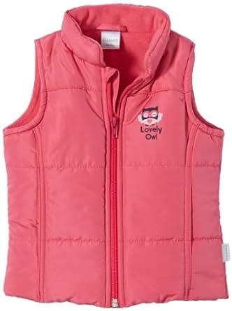Stummer Baby - Mädchen Weste 20219, Gr. 86, Pink (840 pink flambé)