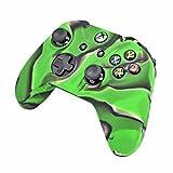 iprotect Silikon Schutzhülle für Microsoft Xbox One Controller Skin in Schwarz grün
