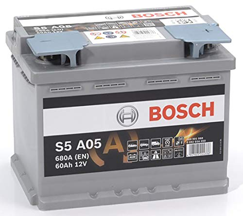 Bosch 0092S5A050 Batterie AGM 12 V 60 mAh 680 A B13