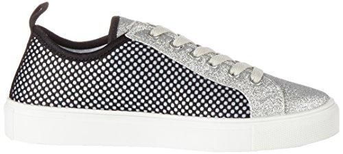 Fiorucci Damen Fepo061 Sneaker mehrfarbig (BIANCO/SILVER)