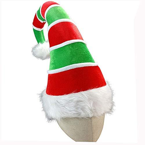 WMA-Clown Hut Weihnachtsmütze Clown Elf SAMT Hut Erwachsener Weihnachtshut Party Prom Liefert