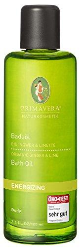 Primavera: Badeöl Ingwer Limette