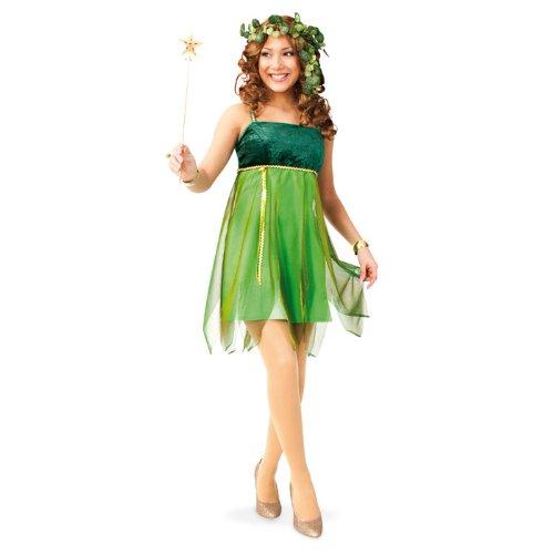 PARTY DISCOUNT NEU Damen-Kostüm Waldfee Lauriel, grün Gr. 36
