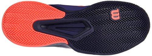Wilson Damen Wrs323040 Tennisschuhe Mehrfarbig (Multicolor / Astral Aura / Evening Blue / Fiery Cora)