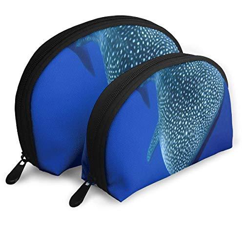 Reisetaschen A Whale Shark Toiletry Aufbewahrungstasche für Frauen/Mädchen