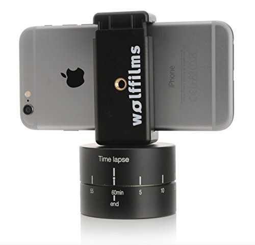 Arktis 'Wolffilms' Smartphone / iPhone 360 Grad Panorama-Stativ Zeitraffer Timelapse Stand SUPERSLOW...