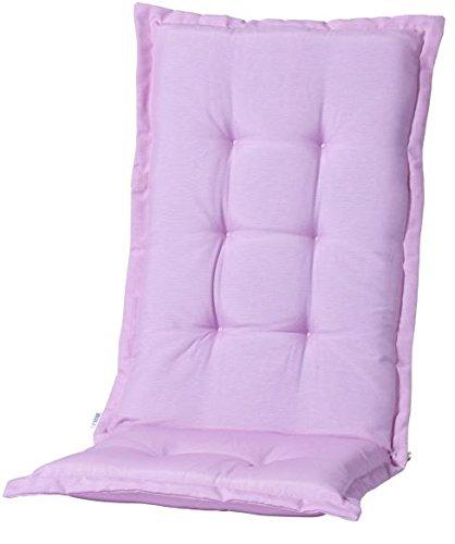 Madison 7MONL-B260 Stuhlauflage, niedrig Panama pastel, 50 x 105 cm, Baumwolle / Polyester, rosa