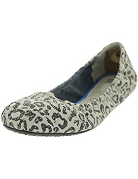 TOMS Womens Ballet Flat Brown