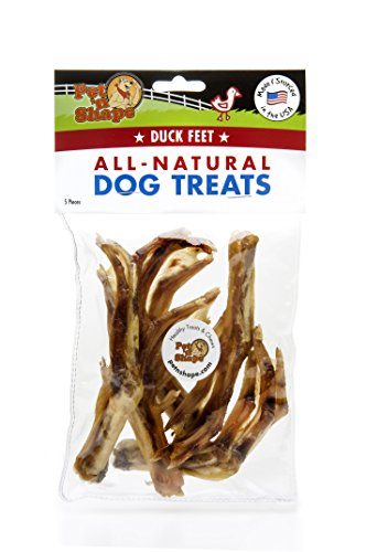 Pet 'n Form–Made in USA–alle natürlichen Ente Füße Hund behandelt Hund Behandelt, Made In Usa