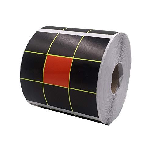 FJROnline Jiugongge Splash Ziel Papier Sticker Ziel Papier Shooting Jagd High Visibility Ziel Aufkleber (A) (Shooting Target-papier)