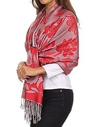 Sakkas Tawny reversible lightweight butterfly Pashmina/ Shawl/ Wrap/ Stole