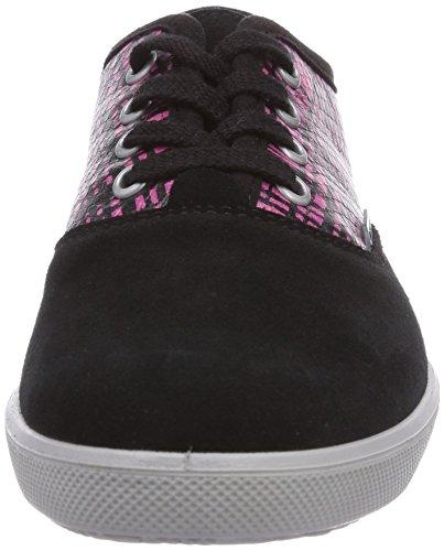 Ricosta Susi, Baskets Basses fille Rose - Pink (schwarz/purple 320)