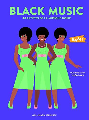 Black Music: 40 artistes de la musique noire par Olivier Cachin