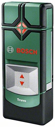 Bosch Ortungsgerät Truvo (3 x AAA Batterien, Erfassungstiefe Stahl/Kupfer/stromführende Leitungen max. 70/60/50 mm, in Tinbox)