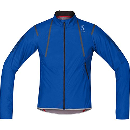 Gore Bike WEAR Herren Rennrad-Jacke, Super Leicht, Kompakt, Gore Windstopper, Oxygen WS AS Light Jacket, Größe: M, Blau, JWAOXY