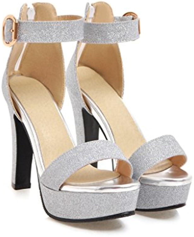 Amy Q - Zapatos de tacón  mujer 36.5 EU color carne