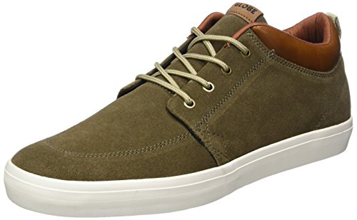 Globe GS Chukka, Chaussures de Skateboard Homme Vert (Marron Walnut/Off White)