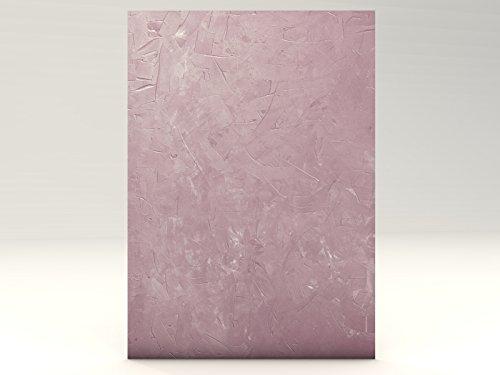 STRUCTURE LILA, 100 Blatt Motivpapier, mit Struktur wie Marmor, Granit, Spachteloptik, für...