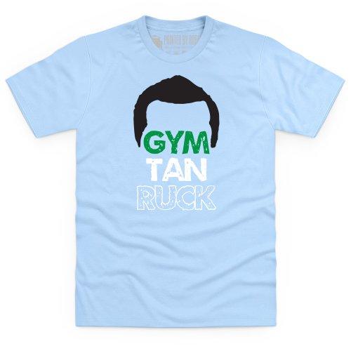 GTR Man T-Shirt, Herren Himmelblau