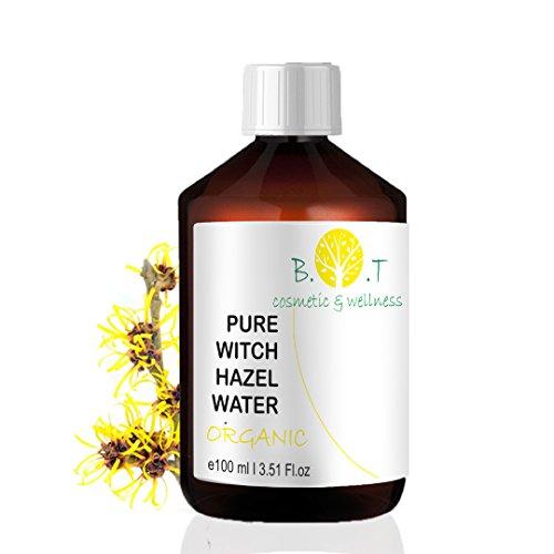 BIO-Blütenwasser Hydrolat Hamamelis - 100 ml HAMAMELIS BLÜTENWASSER