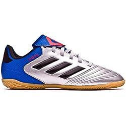Adidas Copa Tango 18.4 In J, Zapatillas de fútbol Sala Unisex niño, (Plamet/Negbás/Fooblu 001), 36 EU