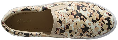Clarks Glove Puppet, Mocassins (loafers) femme Multicolore (Floral Camo)