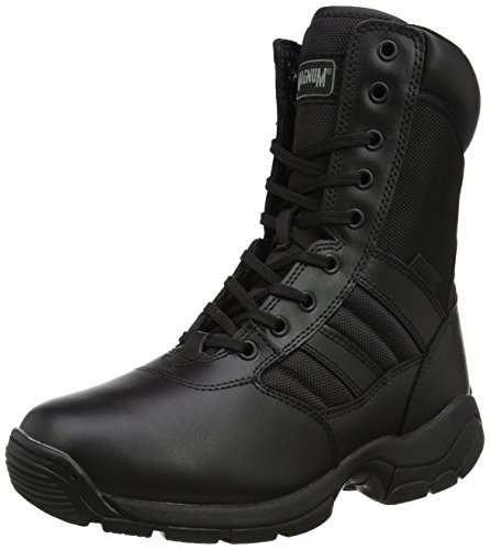 Magnum Panther 8.0 Side-Zip, Bottes Et Bottines de Travail Mixte Adulte, Noir (Black), 6.5 UK