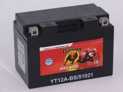 Banner Motorrad Batterie SLA 51021 YTZ12A-BS 12V 10Ah Sla-batterie