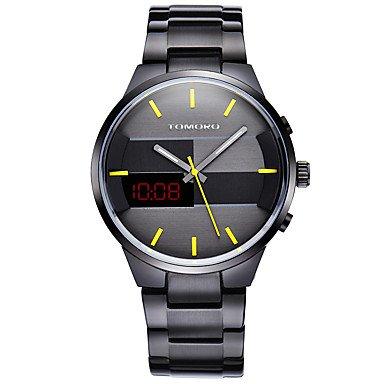 Fenkoo Herren Sportuhr / Militäruhr / Kleideruhr / Modeuhr / Armbanduhr digital / Japanischer QuartzLED / Kalender / Wasserdicht / Duale