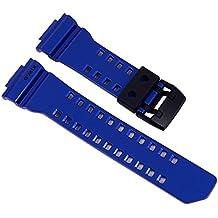 Casio G-Shock Ersatzband Uhrenarmband Resin Band Blau für GBA-400 10479600