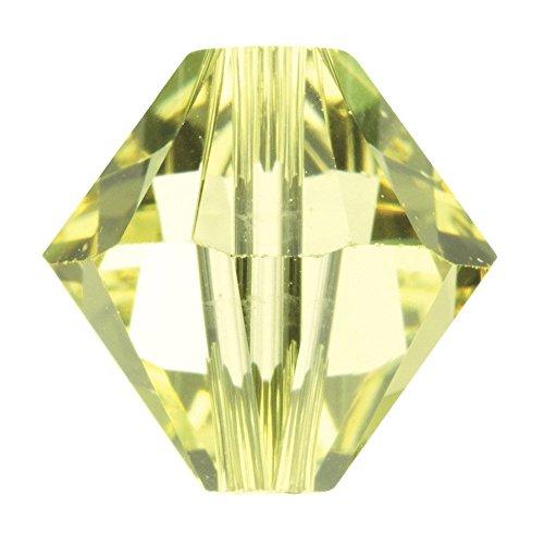 5328SWAROVSKI-6mm perline bicono xilion-Jonquil, (Swarovski Xilion Diamante)