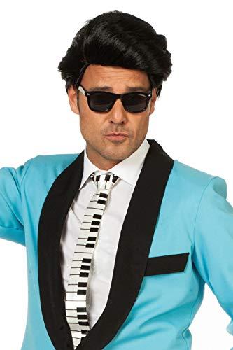 Brille Blue Brothers 70er Jahre 70s 80s Jazz Show Glamour Spaß-Brille Scherz-Artikel Hochwertiges Kostüm-Zubehör Party-Accessoire Karneval Fasching Fastnacht Mottopartys Einheitsgröße - Party Box Kostüm