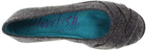 Blowfish Glo Rund Textile Wohnungen Grey Soft Herringbone Flannel