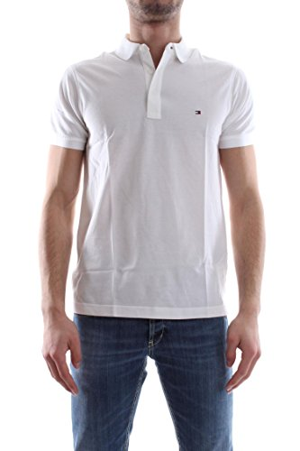 Tommy Hilfiger Luxury Pique S/S SF, Polo Para Hombre