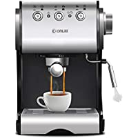 GLEI-TK Máquina de café, 1050W, diseño Anti-Goteo, Filtro Desmontable