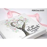 Geldgeschenk - Geld Verpackung -zur Hochzeit PERSONALISIERT Tree of Love