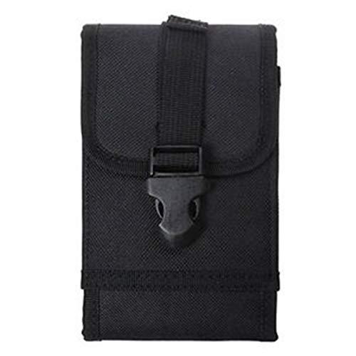 Handytasche MOLLE Einstellbare Smartphone Gürtel EDC Hülle Tasche für Trekking Camping Wandern Outdoor Sport Gear Trage (Color : Schwarz, Size : M) Otterbox Kit