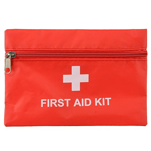 Emergency First Aid Kit Pouch Pack Travel Sport Rescue Medical Treatment Bag Test
