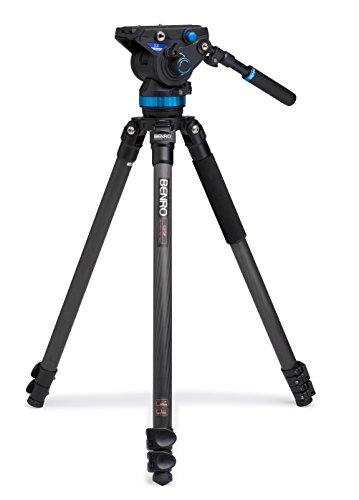 Benro C373FBS8 Series 3 CF Videostativ mit Kopf