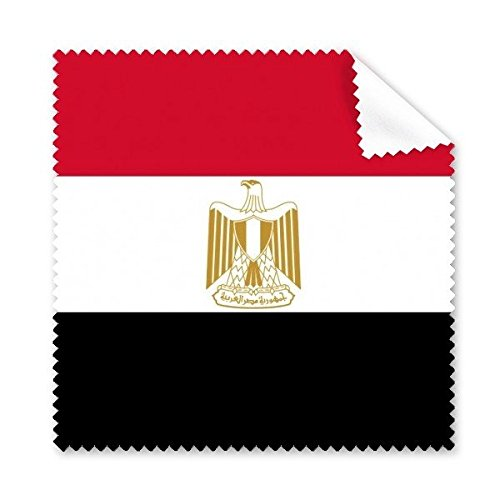 Ägypten National Flagge Afrika Land Symbol Mark Muster Brille Reinigungstuch Reinigungstuch Handy-Display von 5 x
