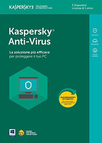 Kaspersky Lab KL1171T5CFS-8SLIM Antivirus 2018 3 User 1 Year