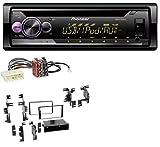 caraudio24 Pioneer DEH-S210UI AUX CD USB MP3 1DIN Autoradio für Nissan Versa (ab 07) Xterra (ab 13)